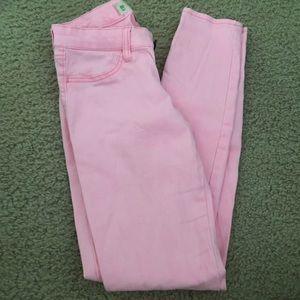 HOLLISTER bright pink jeans NWOT